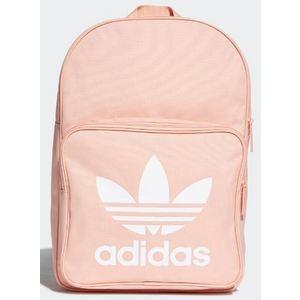 Zaino Adidas rosa logo Trefoil bianco art. DW5188