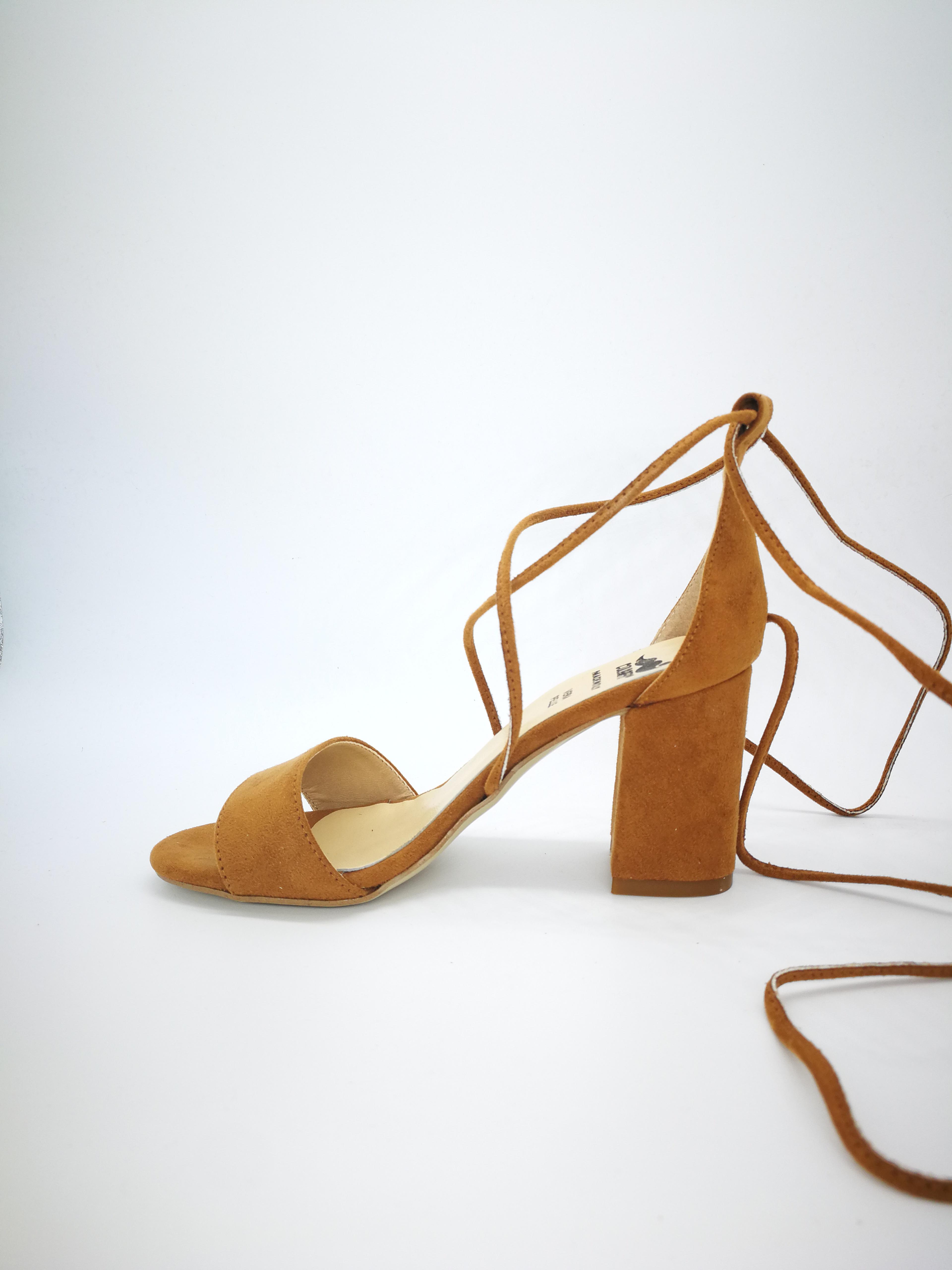 En Losa Cuero Colbaffo® Cierre Superior Sandalias Color cq3Rj54LA