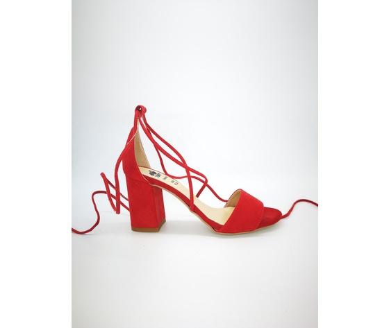 Colbaffo 3269 rosso sandali alla schiava %281%29