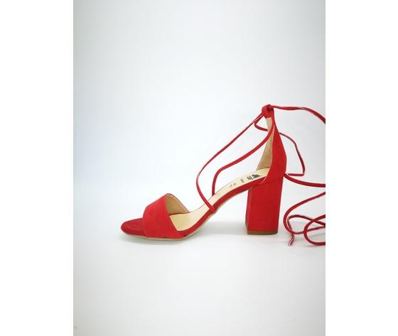 Colbaffo 3269 rosso sandali alla schiava %283%29