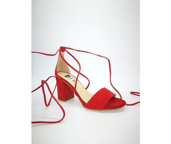 Colbaffo 3269 rosso sandali alla schiava %284%29