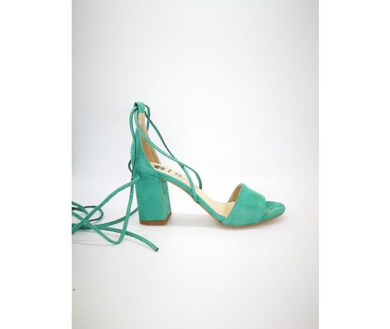 Colbaffo 3269 verde sandali alla schiava %281%29