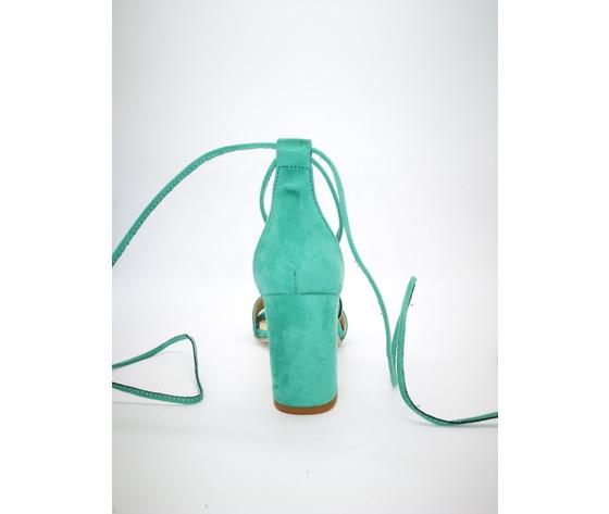 Colbaffo 3269 verde sandali alla schiava %282%29