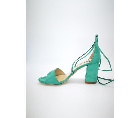 Colbaffo 3269 verde sandali alla schiava %283%29