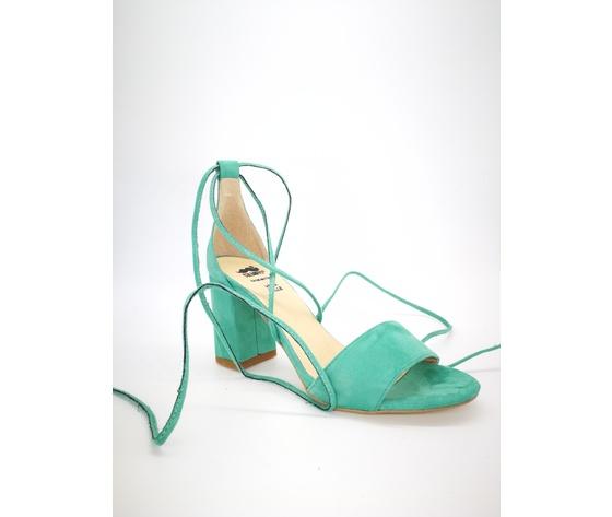 Colbaffo 3269 verde sandali alla schiava %284%29
