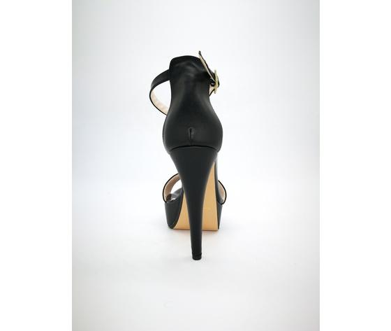 440ner colbaffo sandali tacco 13 nero 2