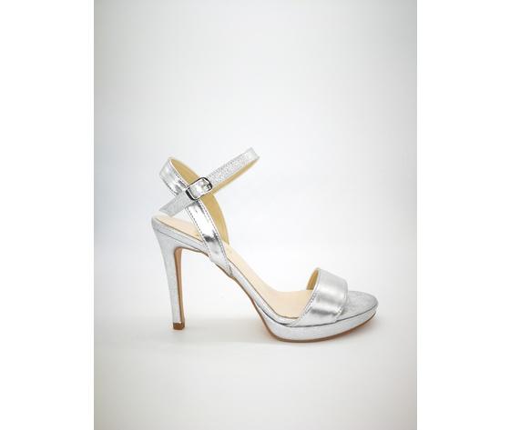 .091arg gloss colbaffo sandali tacco 10 argento