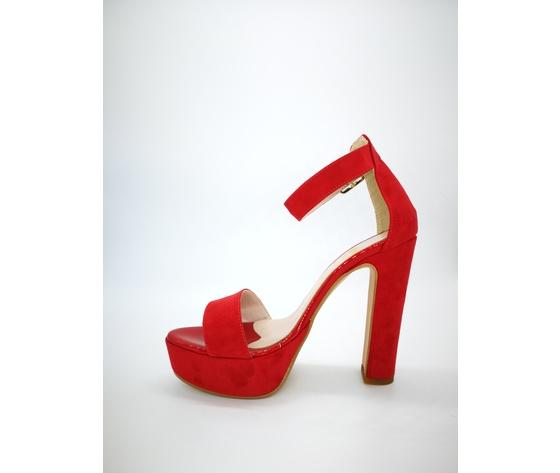 449ros colbaffo sandali tacco 12 tallone rosso 3