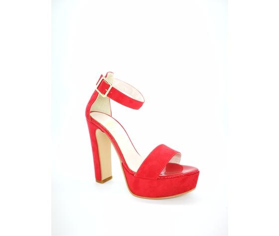 449ros colbaffo sandali tacco 12 tallone rosso 4