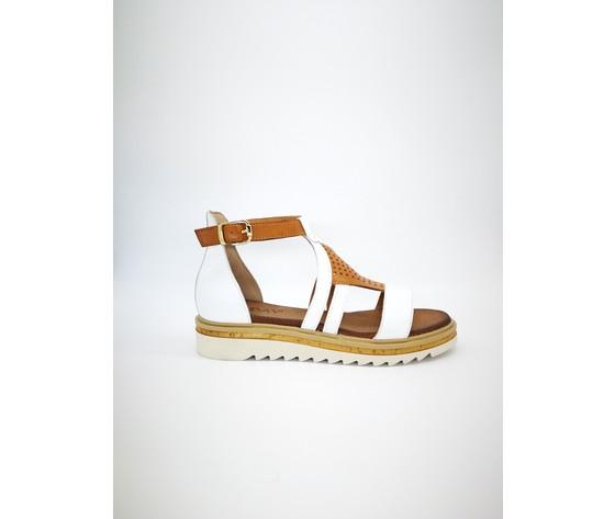 7267 bi juliet sandalo bianco muschio jeiday