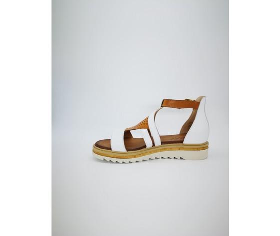 7267 bi juliet sandalo bianco muschio jeiday 3