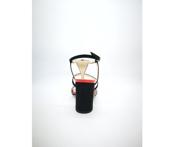 Ibb871 c 002 cinzia soft sandali multicolor tacco largo 2