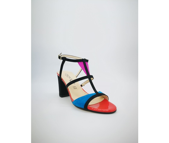 Ibb871 c 002 cinzia soft sandali multicolor tacco largo 4