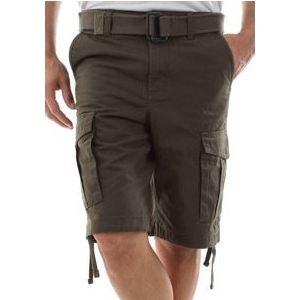 Bermuda Jack&Jones Verdone Cargo Pantaloncino con Tasconi art. 12166338 Militare