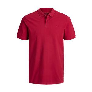 Polo Jack & Jones rosso slim fit cotone uomo art. 12136516 Rosso