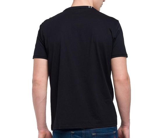 M3594 2660 098 maglietta replay nero logo bianco 3