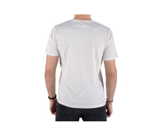 M3720 2660 maglietta replay bianca banda rossa 3