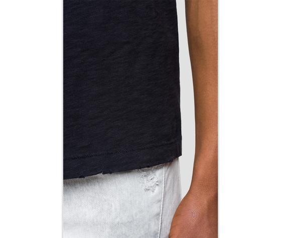 M3745 22336g maglietta replay nera logo rosso fantasia 6