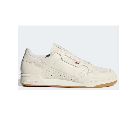 sports shoes 1d6c8 7fc5d Adidas Continental 80 sneakers colore beige burro in pelle gum scarpe uomo  art. BD7975