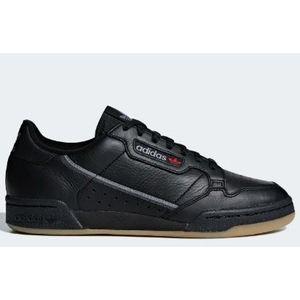Sneakers Adidas Continental 80 nero grigio tempo libero uomo art. BD7797