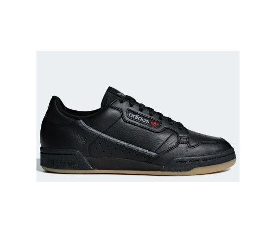 Bd7797 adidas continental 80 nero grigio
