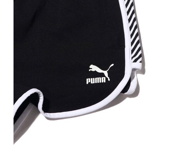 579583 01 puma short nero donna 4
