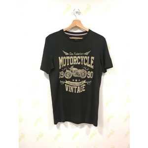 Maglietta Jack & Jones nero New Biker Pktauk uomo art. 12153639 Nero