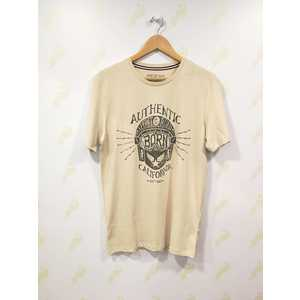 Maglietta Jack & Jones beige New Biker Pktauk uomo art. 12153639 Beige