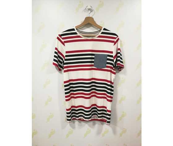 12153723 american jack   jones maglietta strisce