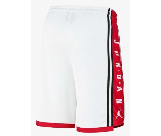 Bq8392 100 jordan basketball short bianco rosso 2
