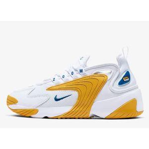 Sneakers Nike Air Zoom 2K bianco oro scarpe donna art. AO0354 106