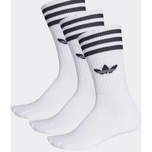 Calze Adidas bianco trifoglio cotone 3 paia uomo art. S21489