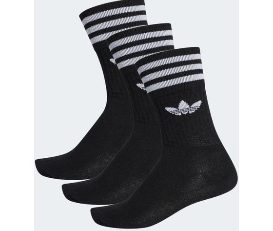 S21490 calze adidas solid crew sock nero