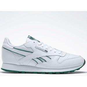 Sneakers Reebok Classic Leather bianco verde uomo art. DV8631