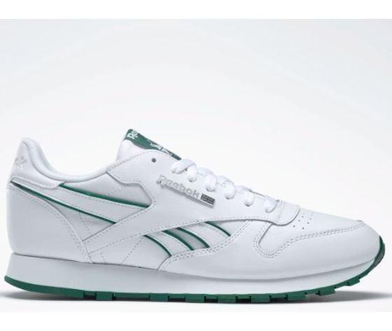 Dv8631 reebok classic leather mu bianco verde