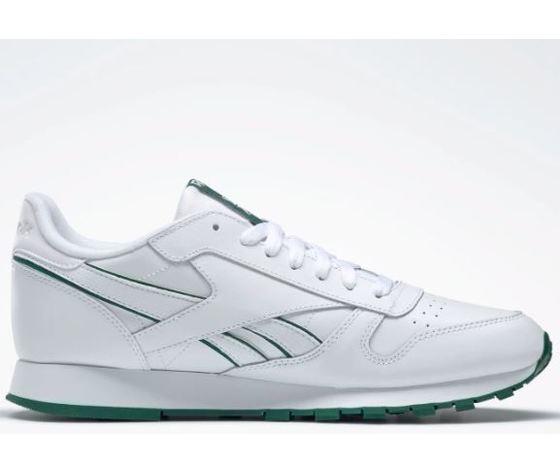 Dv8631 reebok classic leather mu bianco verde 6
