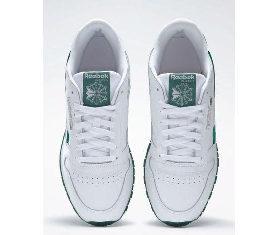 Dv8631 reebok classic leather mu bianco verde 5