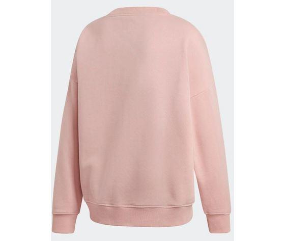 Ec0746 adidas felpa rosa sweatshirt 2