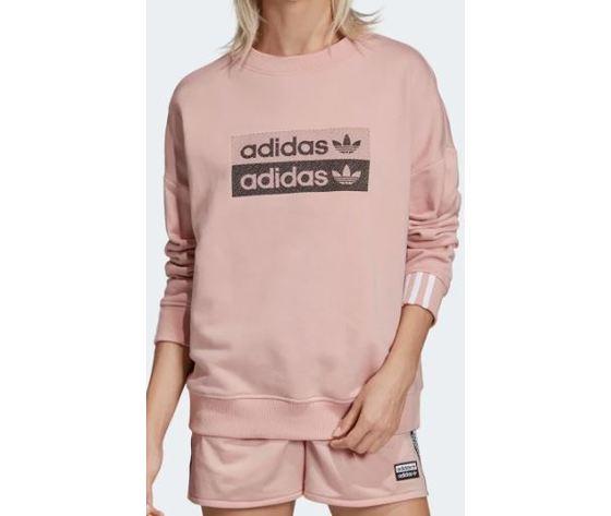 Ec0746 adidas felpa rosa sweatshirt 3