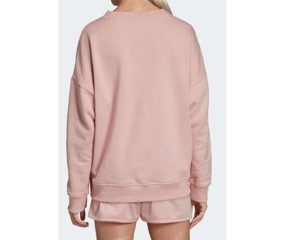 Ec0746 adidas felpa rosa sweatshirt 4