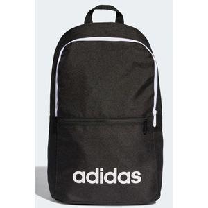 Zaino Adidas nero scritta bianca Linear Classic Daily art. DT8633