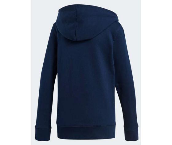 Ce2410 adidas felpa hoodie trefoil blu 2