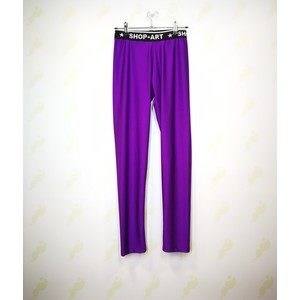 Leggins in tessuto tecnico Shop Art viola donna art. 19ISH60317VIO