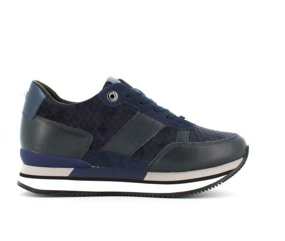 9frsd34 blu sneakers ape pazza donna blu velluto 4