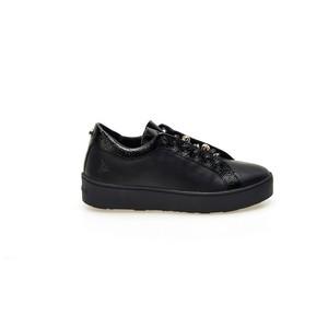 Sneakers ApePazza nero pelle Sharon slip-on gioielli tempo libero donna art. 9FSLW07 CRASH