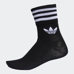 Calze Adidas Mid Cut nero 3 paia art. DX9092