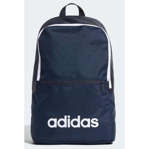 Zaino Adidas blu scritta bianca Linear Classic Daily art. ED0289