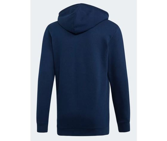 Ej9682 adidas hoodie trefoil felpa cappuccio uomo blu 2