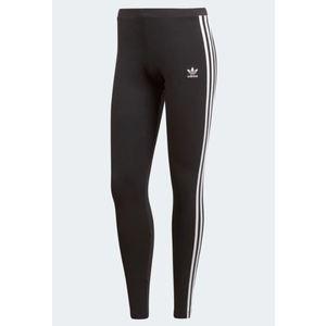 Leggings Adidas nero 3 strisce bianche abbigliamento donna art. CE2441