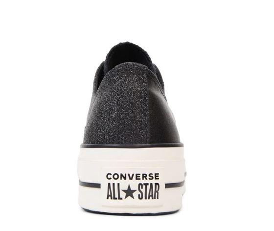 565899c converse ctas lift ox platform nero bianco pelle 3